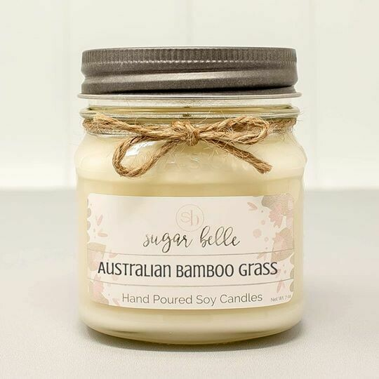 Soy Candle 8 oz. - Australian Bamboo Grass