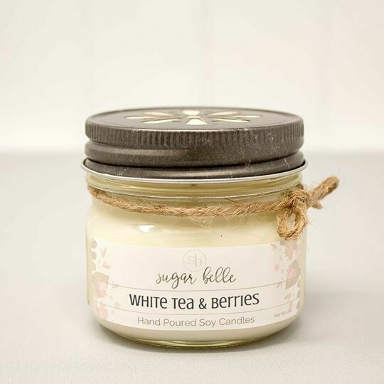 Soy Candle 4 oz. - White Tea & Berries