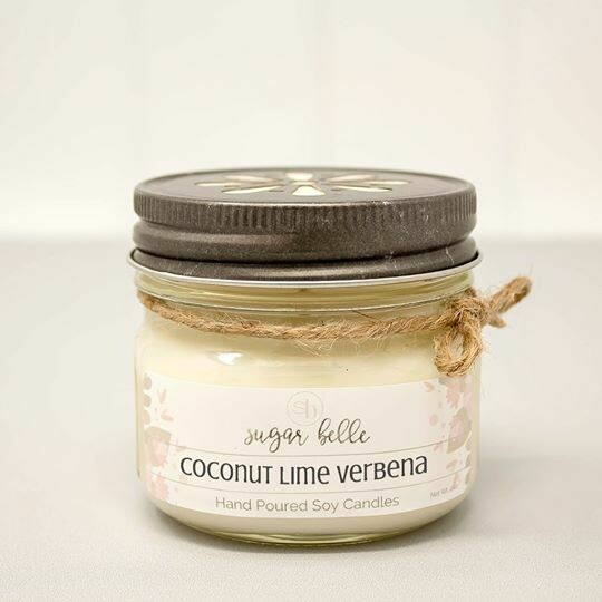 Soy Candle 4 oz. - Coconut Lime Verbena