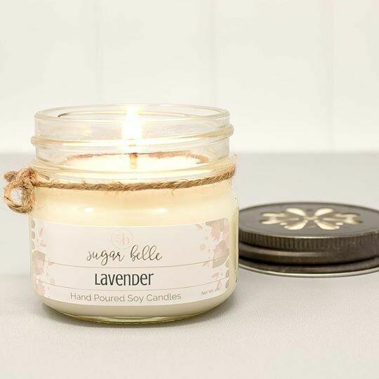Soy Candle 4 oz. - Lavender
