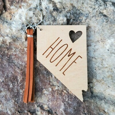 Keychain - Nevada Home (natural)