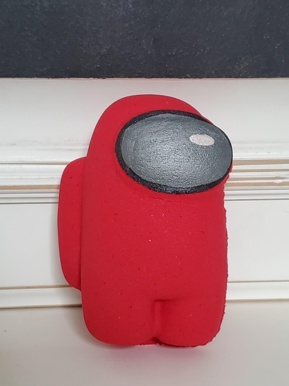Bath Bomb - Space Crew Red (Fruit Punch) XL 9 oz.