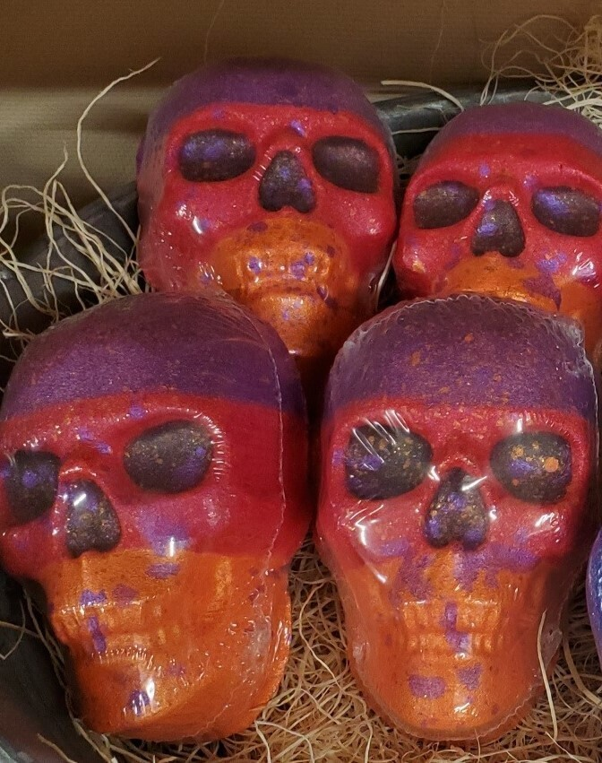 Bath Bomb - Nirvana Skull