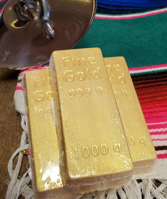 Bath Bomb - Gold Bar (Juicy Apricot)
