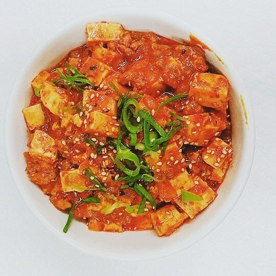 마파두부 Mapa Tofu (spicy)