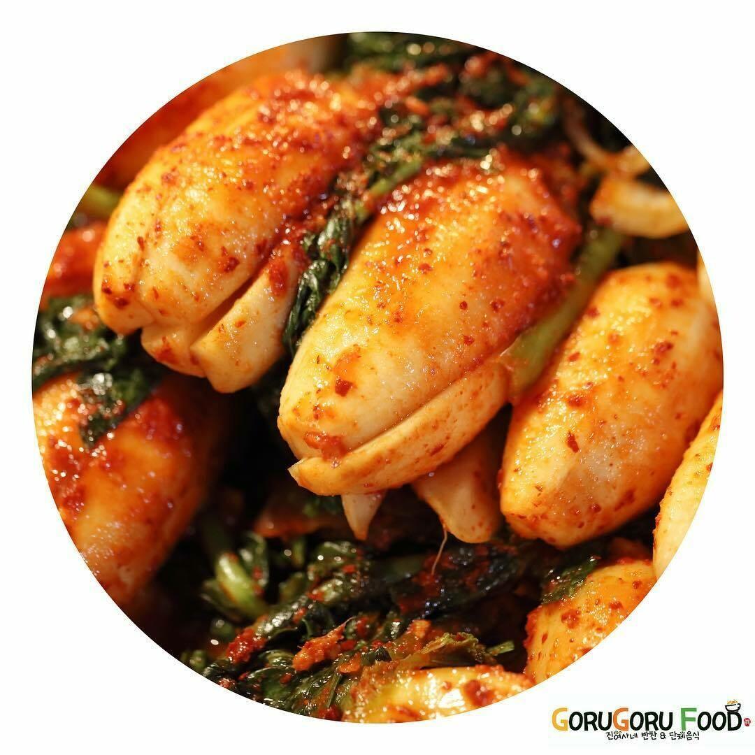 홈메이드 총각 김치(1L) Home Made Young Radish Kimchi