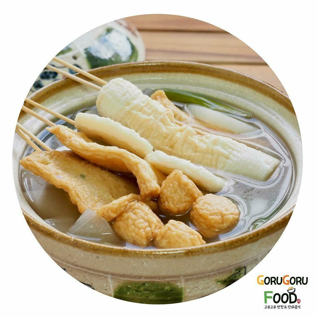모듬어묵탕 Assorted Fish Cake Soup