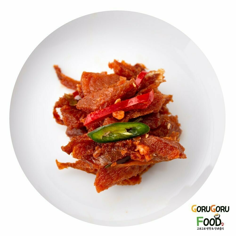 황태채 무침 Dried Pollack Salad