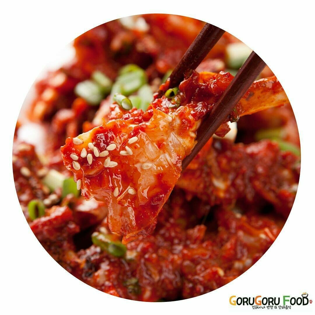 양념게장 Raw Crab Marinated in a Spicy Sauce