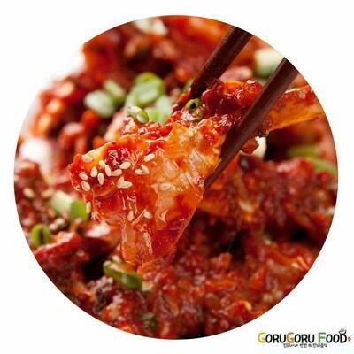 양념게장 Raw Crab Marinated in a Spicy Sauce
