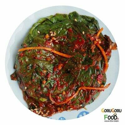양념깻잎지 Seasoned Sesame Leaf
