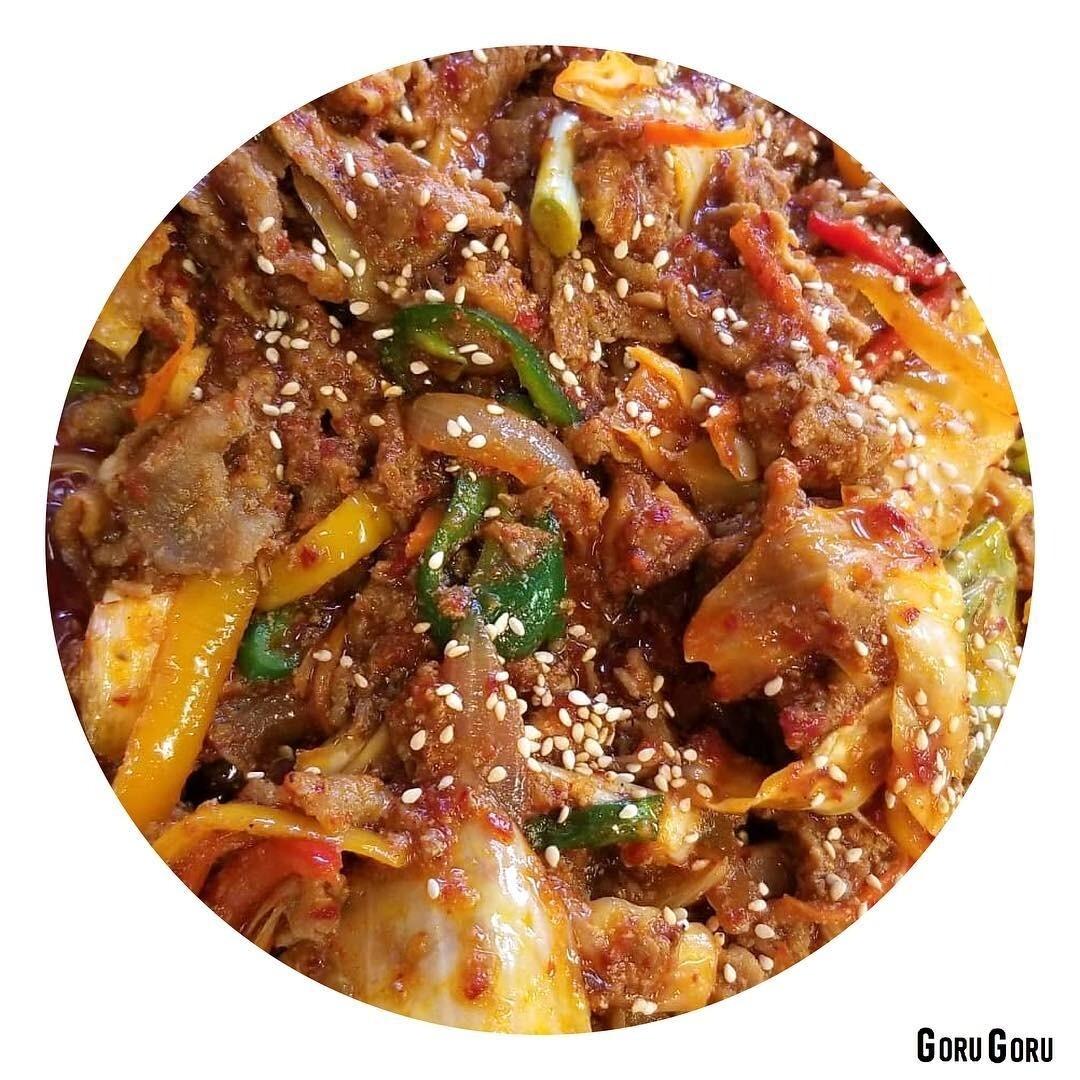 제육볶음 Korean Spicy Stir-Fried Pork(spicy)
