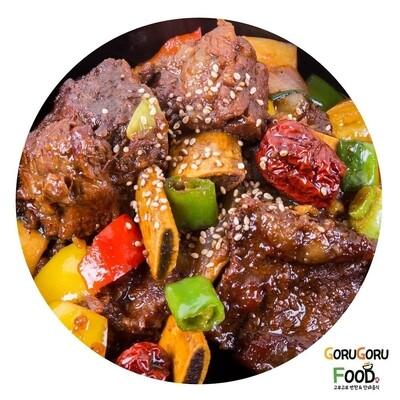 소갈비찜 Steamed Beef Ribs