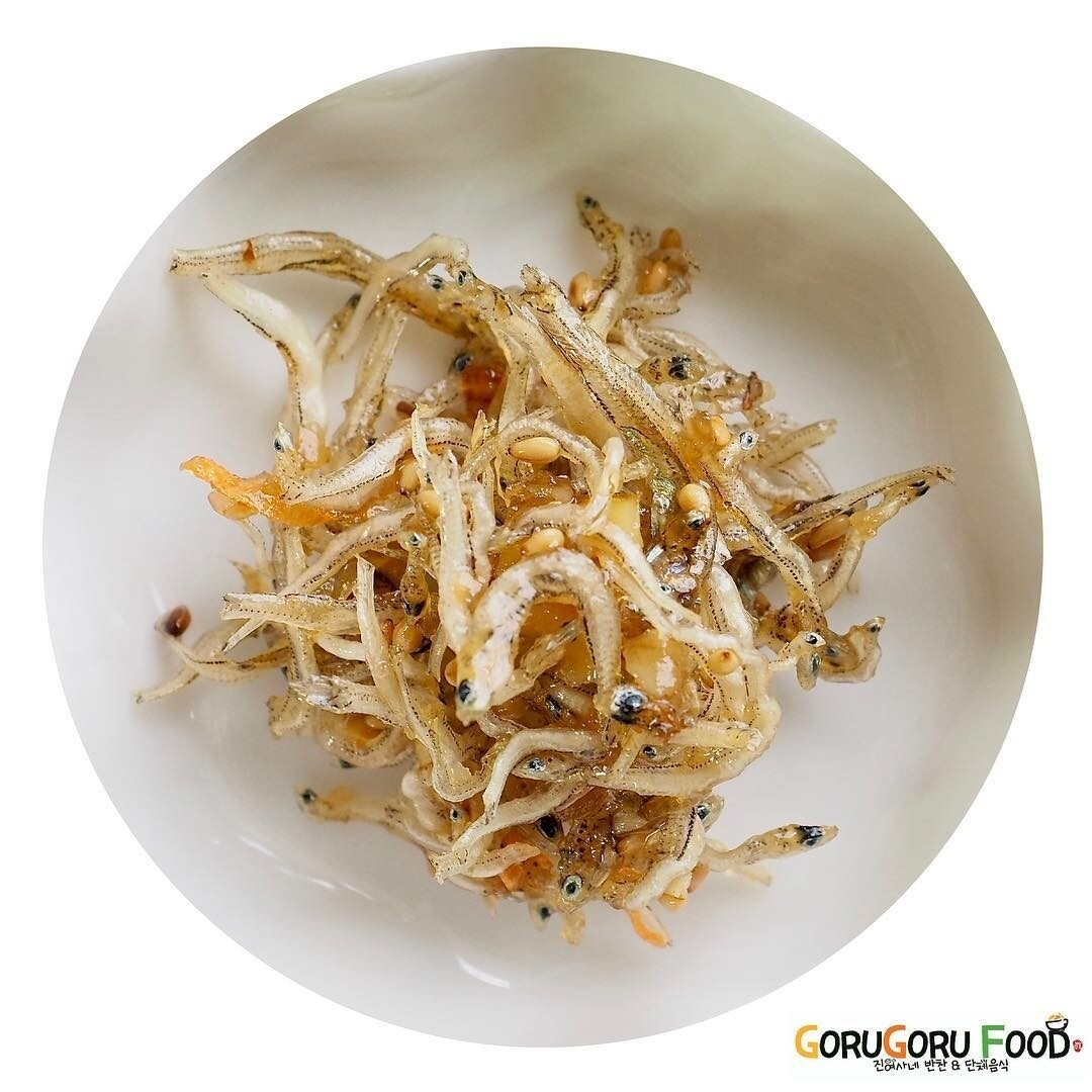 멸치볶음(Baby) Stir-Fried Anchovies (Non-spicy)