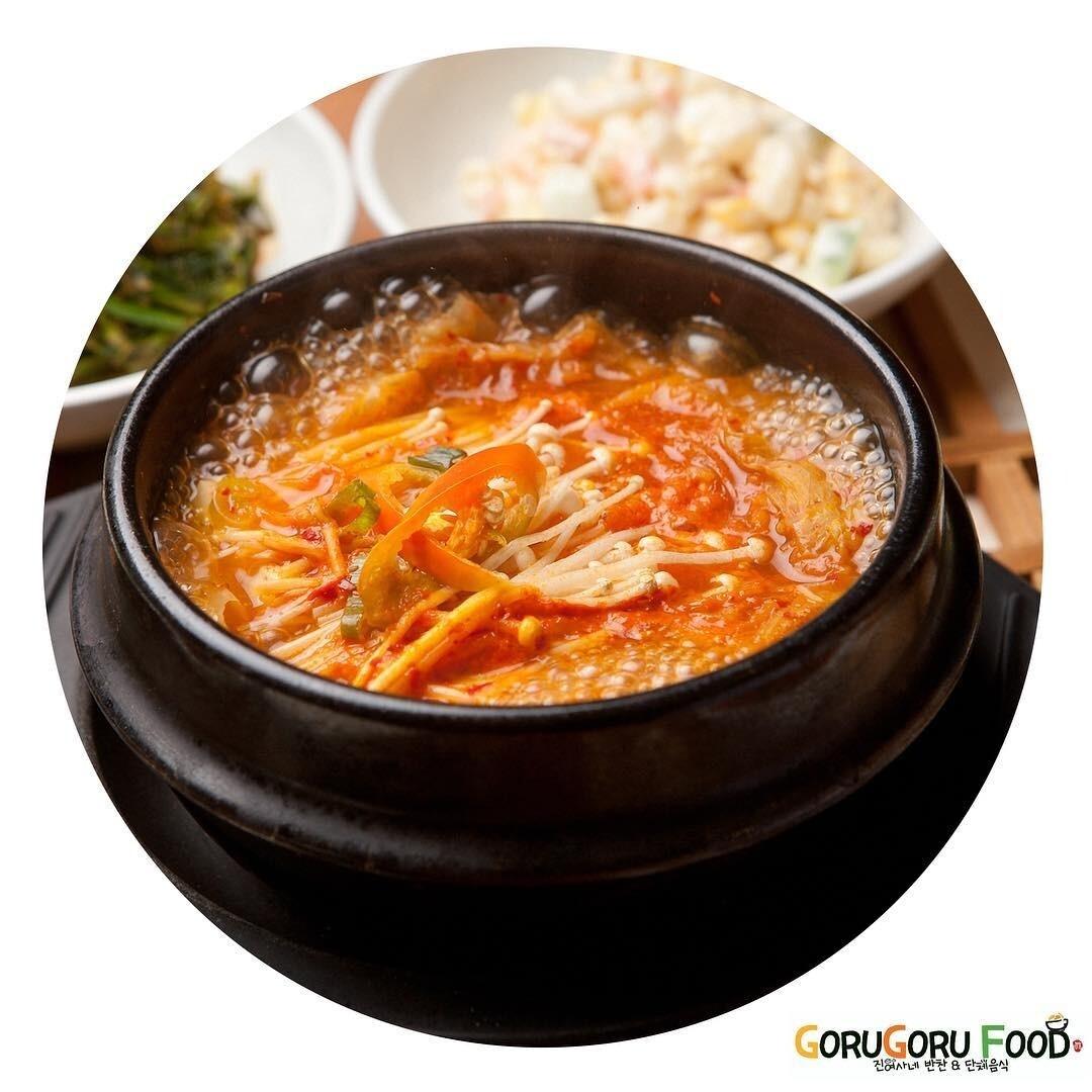 육개장 Spicy Beef Soup with Vegetables (spicy)
