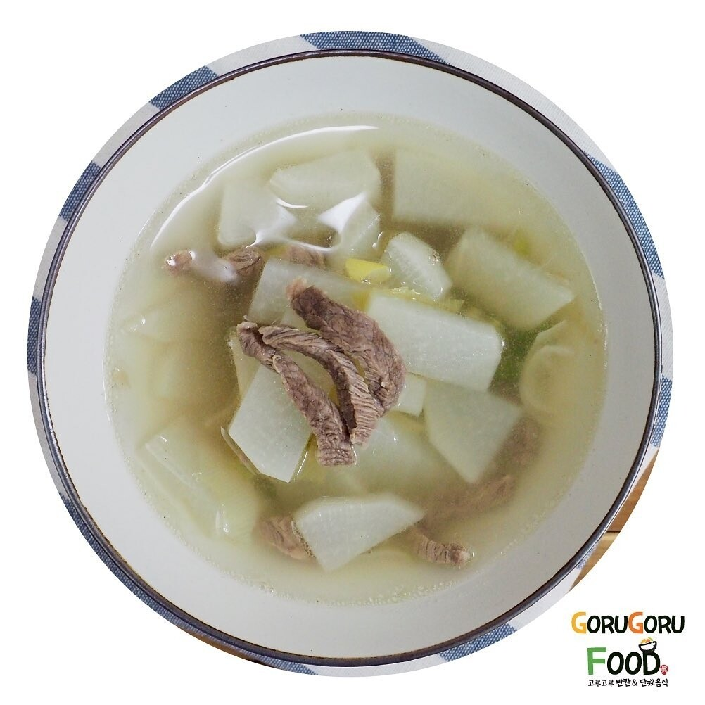 소고기 무국 Korean Beef Radish Soup