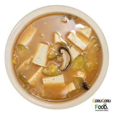 매콤호박 두부 된장찌개 Spicy Soybean Paste Soup