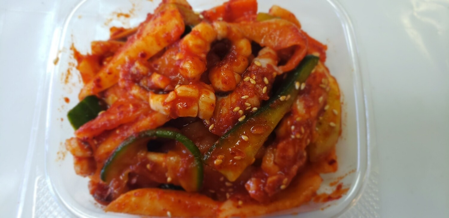 오징어 초무침 Sweet & Sour Spicy Squid