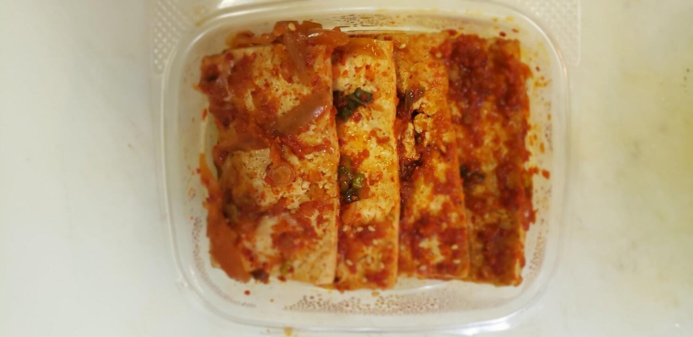 두부조림 Braised Tofu