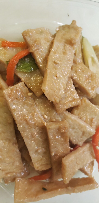 오뎅볶음 Stir-Fried Fish Cake (non-spicy)