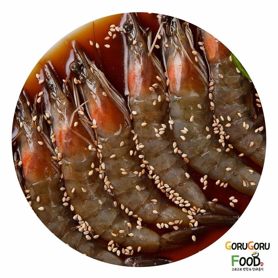 새우장 Soy Sauce Marinated Shrimp