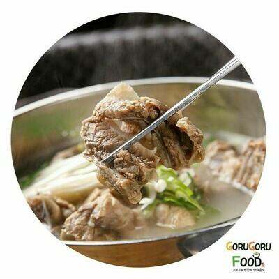 갈비탕 (Short Rib Soup)