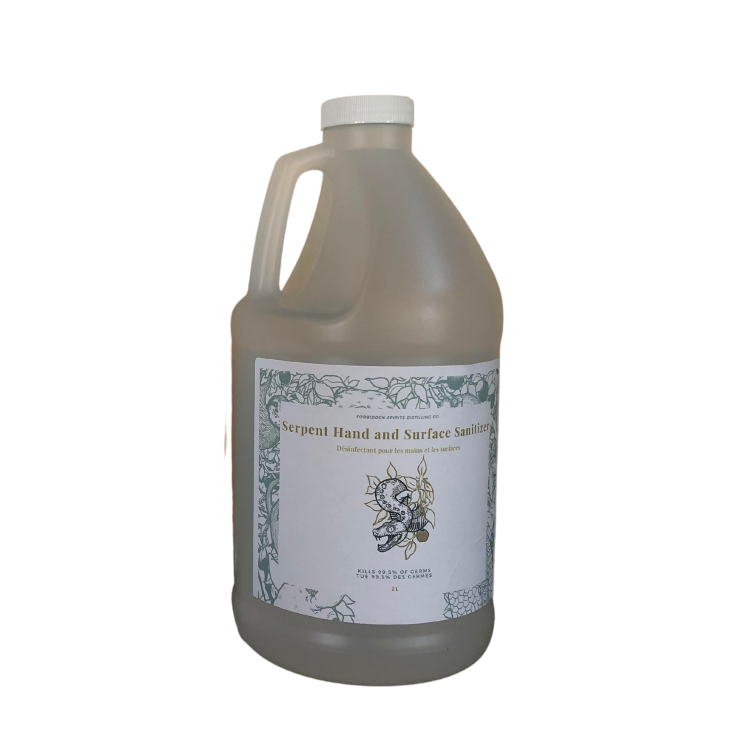 Serpent Sanitizer - 2L (W)