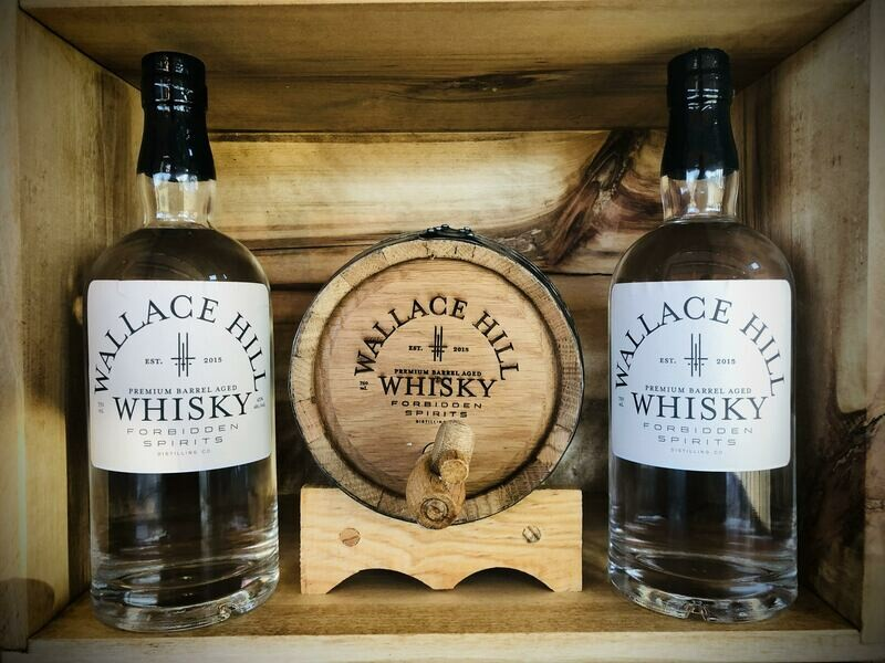 Wallace Hill Whisky - Gift Set (W)