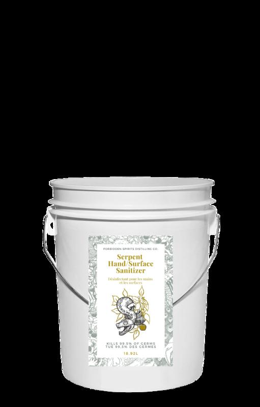 Forbidden Spirits - Hand and Surface Sanitizer - REFILL (W)