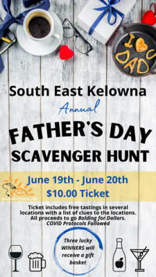 Annual Father's Day Scavenger Hunt 2021
