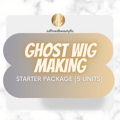 """Ghost Wig Making"" Starter Package"