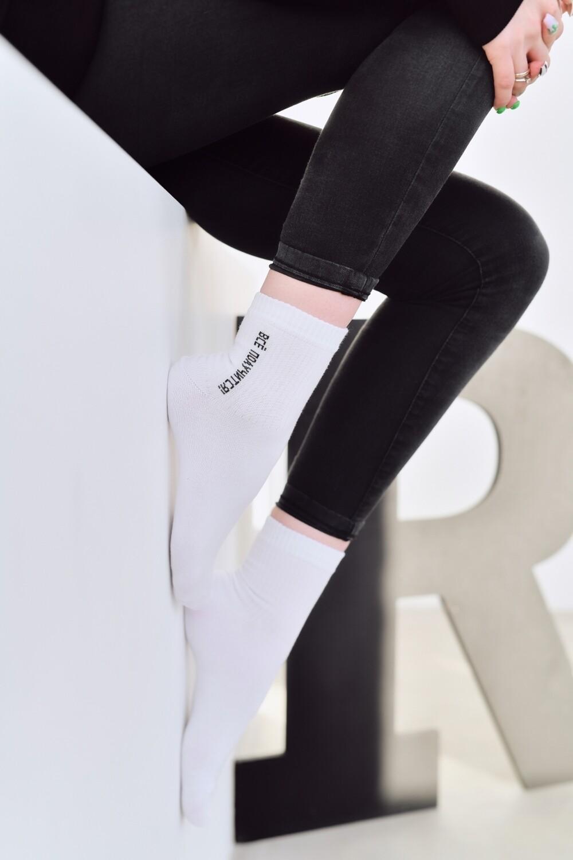 Носки белые «Всё получится»