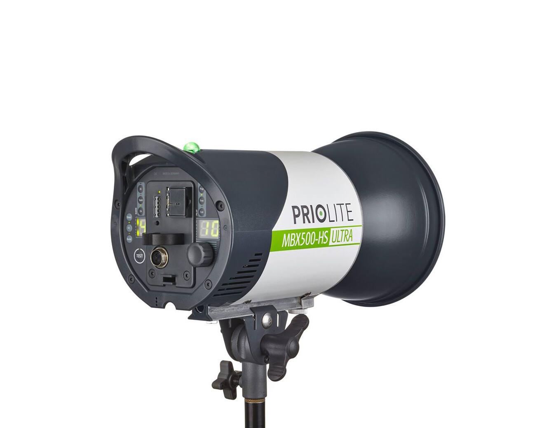 Priolite MBX 500 Hot Sync ULTRA High Speed Akku-Blitz
