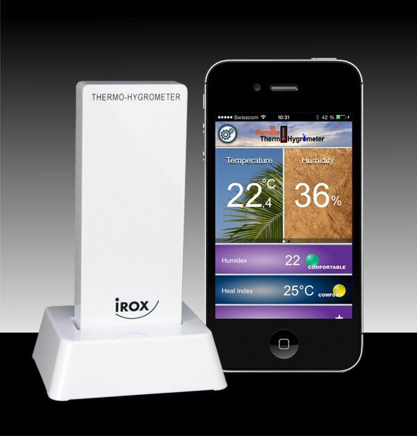 Bluetooth Thermometer für Mobile Phones