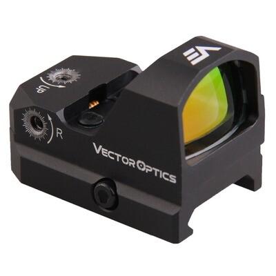 Vector Optics Frenzy 1x17x24 Red Dot Pistol Handgun Sight 21mm Picatinny (SCRD-19II)