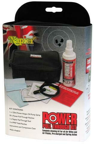 Napier Power Airgun Pull Through Cleaning Kit
