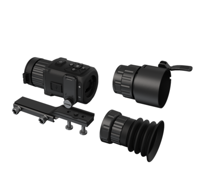 HIK Micro Ultimate Thunder 2.1x 35mm 35mK 384x288 17um Smart Thermal Weapon Scope with Scope Clamp