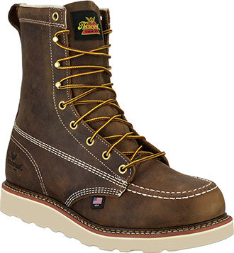 804 4478 USA Thorogood  8in Moc Steel Toe