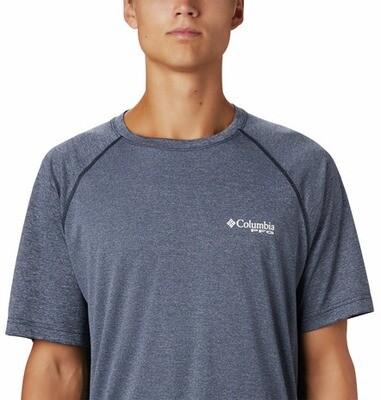1847221465 Terminal Tackle  Heather SS Shirt