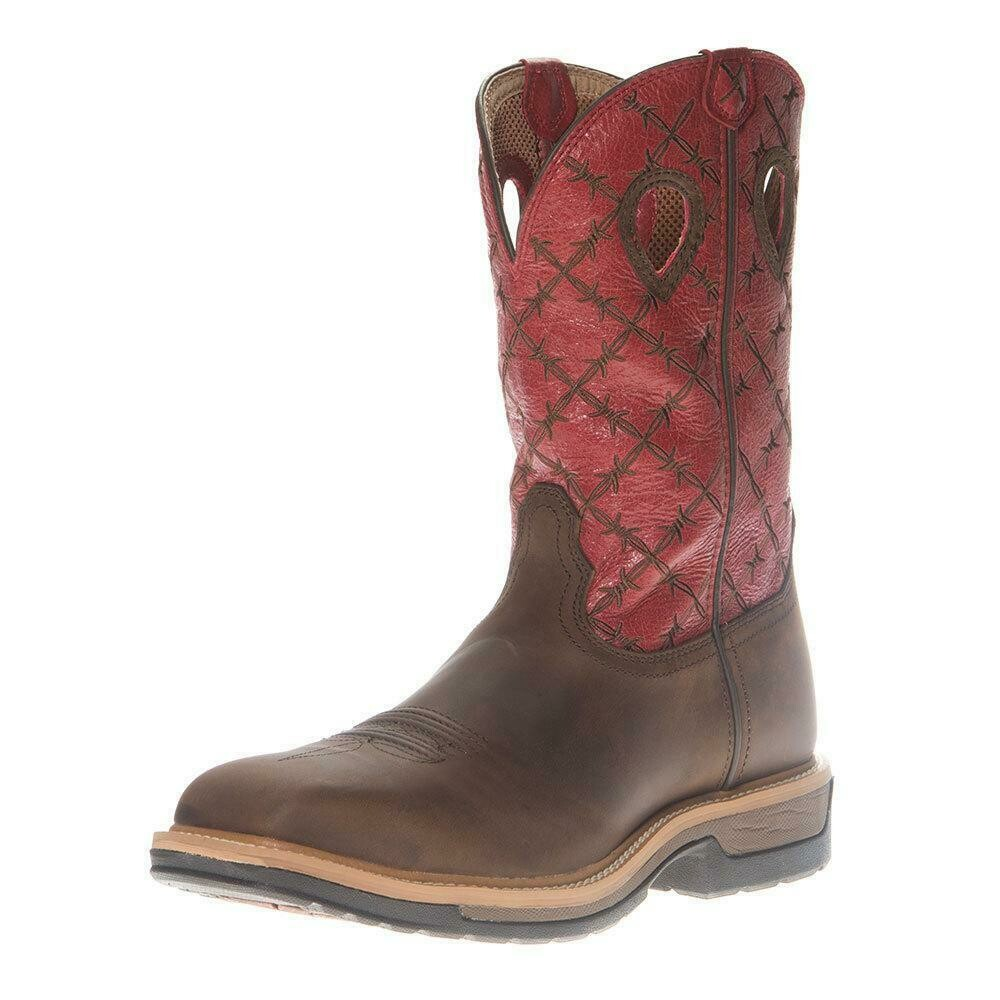 MLCA005 Mens Alloy Toe Lite Western Work Boot