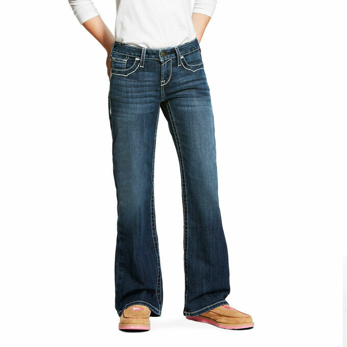 10025984 GIRLS REAL BOOT CUT ENTWINED DRESDEN
