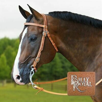 00341 Billy Royal Supreme Harness Leather Reins 8'