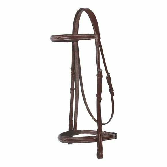 19179 Pinnacle Padded Fancy Stitched Bridle