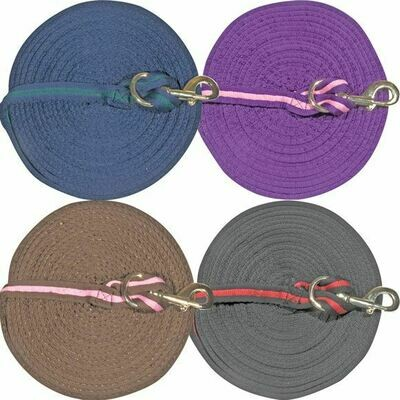 31017 Dura Tech Cushion Lunge Line with Snap