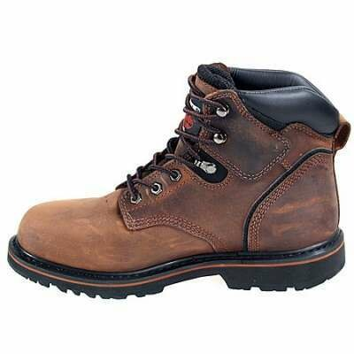 33034 Timberland Pro Pit Boss Steel Toe BrownOiled