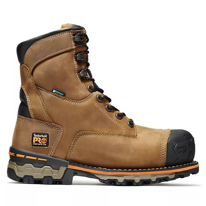 92671 Timberland Pro 8in Boondock WP Comp Toe