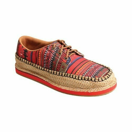 WCL0008 Weave/Red Multi Canvas