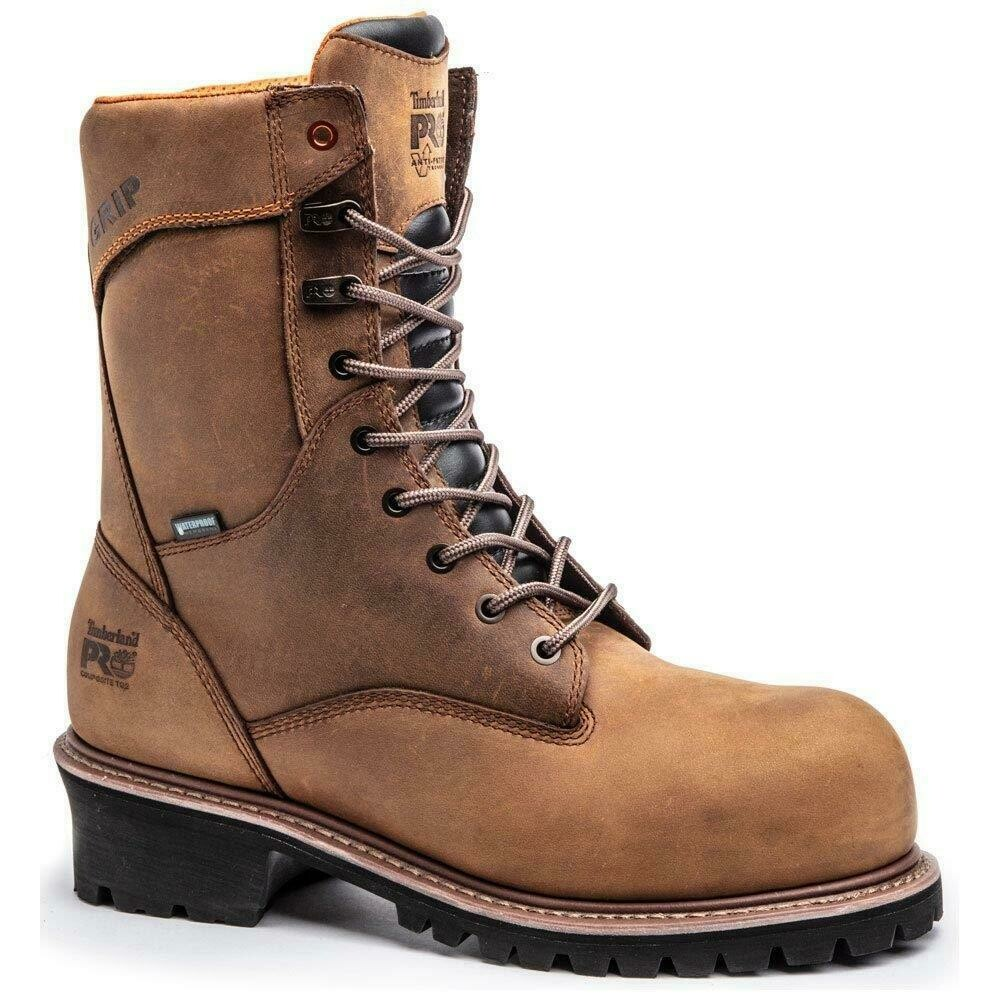 A1X59  Timberland Pro Buzz Saw NT WP/BROWN LOGGER