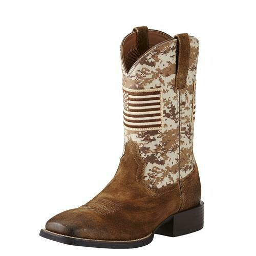 10019959 ARIAT MNS SPORT PATRIOT /SAND CAMO