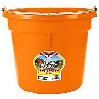 16017 DuraFlex Flatback Bucket